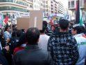 Imágenes de la manifestación del 17 de enero en Valencia contra el genocidio del pueblo palestino
