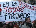 En el segundo día de huelga en la educación infantil madrileña miles de personas toman la calle
