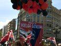 Un millar y medio de confederales acuden a la manifestación de CGT en Zaragoza