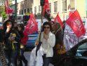 Galería: nueva manifestación de los trabajadores del Hospital Militar Gómez Ulla el pasado miércoles