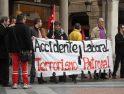 Valladolid: concentración por el obrero muerto en Michelín