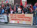 Zaragoza: Los jardineros dicen ¡Basta de recortes!