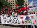 8J en Granada: Imágenes de una huelga