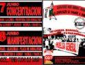 7 y 8 junio, La Línea y Algeciras: Movilizaciones contra el decretazo de Zapatero