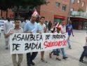 Éxito de la manifestación contra el Paro convocada por la Asamblea de Parados/as de Mollet (30 junio)