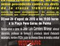 26 agosto, Palma de Mallorca: Jornada reivindicativa y Conferencia sobre la reforma laboral