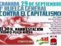 CGT Granada: Acciones para la Huelga General