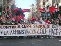 Barcelona: 124 trabajadores de SAS se concentran frente al Departament de Treball