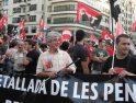 2.500 trabajadores se manifiestan en Valencia con la CGT