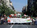 Seguimiento de la Huelga General en Granada