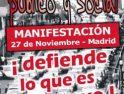 Todxs a la Manifestación el 27 de noviembre: Por un Ferrocarril público