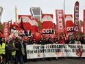 2.000 ferroviarixs se manifiestan en defensa de un Ferrocarril público y social