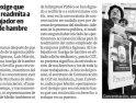 Concentración en Almería en apoyo a Luis, despedido de Egmasa, en huelga de hambre