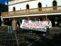 CGT protesta en La Almoraima y La Jarandilla