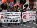 """Decenas de miles de gargantas gritan contra la Junta de Andalucía y el """"sindicalismo oficial"""" (22 enero)"""