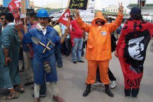 Triunfo de los trabajadores de las minas de Khouribga