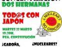 Crónica y aclaración sobre la concentración anti-nuclear en Dos Hermanas del 22 de Marzo