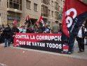 Sindicalistas de CGT-PV se concentran ante la Conselleria de Medio Ambiente contra las privatizaciones y la corrupción