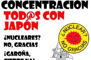 CGT y Ecologistas en Acción llaman a movilizarse contra la energía nuclear y en solidaridad con el pueblo japonés