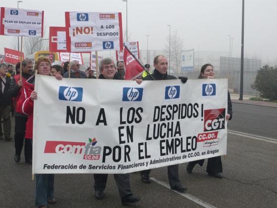 CCOO desconvoca autoritariamente tres horas antes la huelga de HP
