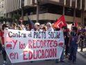 Manifestación por la educación pública en Alacant (12 abril)