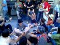 Acto de protesta ante la Bolsa de València, 23-5-11