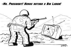 Pereyra: «¡Hemos matado a Bin!»