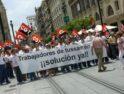 Manifestación en Sevilla: Trabajadores de Tussan en paro ¡Solución Ya! (20 mayo)