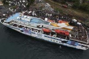 El ejército israelí ataca a un barco de observadores internacionales