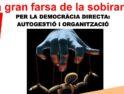 Barcelona: Acto público «La gran farsa de la soberanía»