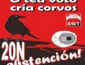 CGT Galicia: Tu voto cría cuervos