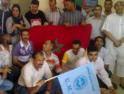 Barcelona: Concentración en solidaridad con los compañeros de Roca-Maroc