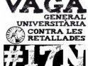 La huelga universitaria del 17N culminará con una manifestación en Barcelona