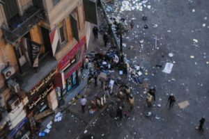 La renuncia del gobierno de Sharraf no parará la lucha popular en Egipto