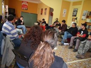 Crónica de la jornada de formación sindical para jóvenes en Reus