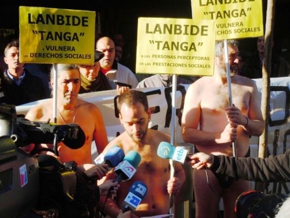 El INEM-Lanbide «tanga», recorta y vulnera Derechos Sociales