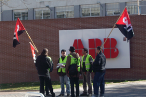 Despedidos todos los trabajadores de Eulen ABB que estaban en huelga