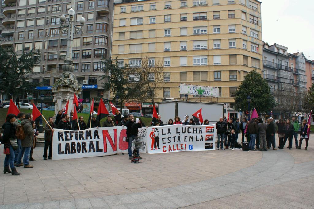 Santander 25 F: La lucha está en la calle !!