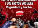 Febrero 2012: Movilizaciones de CGT contra la reforma laboral