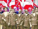 Ciaño acoge una exposición de imágenes del anarcosindicalismo asturiano
