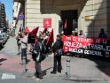 Concentración-convocatoria de CGT Alicante para la huelga general del 29M