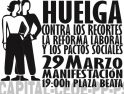 Manifestación 29M en Madrid