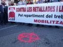 Vídeo Manifestación huelga general en Valencia