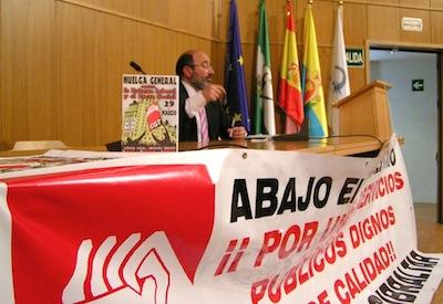 Concentración y Charla sobre la Reforma Laboral en Algeciras