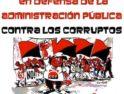Manifestación en Astorga de CGT en defensa de la administración pública