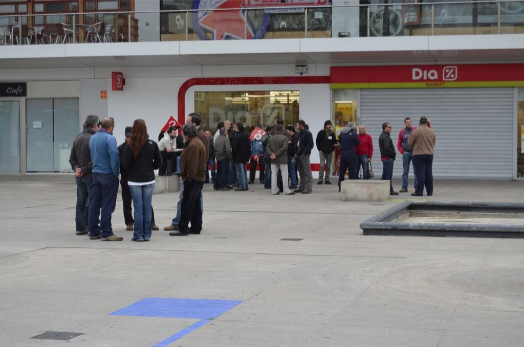 Manifestacion Algeciras en la Huelga General 29M