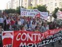 Fotos Manifestación mediodía Folga Xeral Vigo