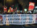 Congreso de CGT en Toledo: Manifestación 9 M