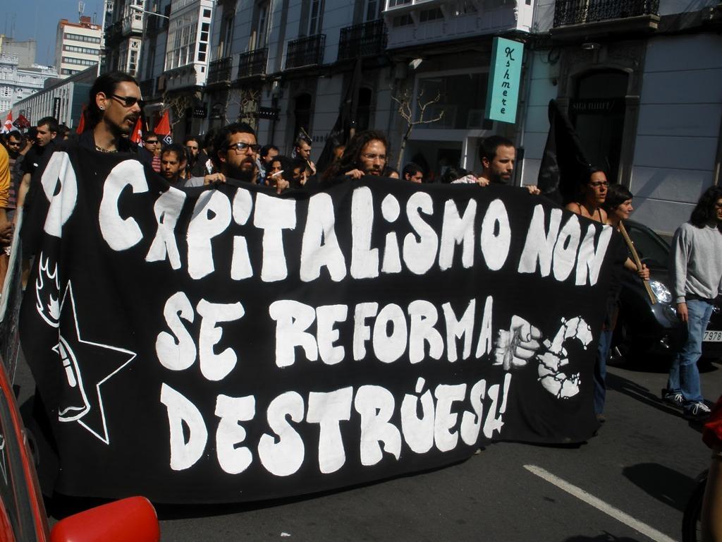 Vídeos de la manifestación del 29M en A Coruña