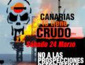 Movilizaciones contra las prospecciones petrolíferas en Canarias